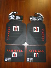 Farmall International Harvester Ih Front and Rear Car Truck Rubber Floor Mats
