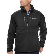 Columbia Get-A-Grip Thermal Coil Men's Softshell Jacket Black Small -Spring/Fall