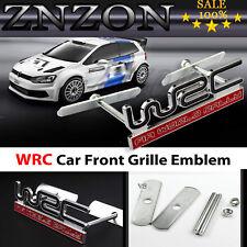 HOT Black WRC Front Grill Badge Car Truck Auto Metal Logo Grille Emblem