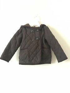 Baby Gap Toddler Quilted Jacket Brown 3T