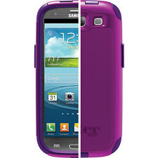 OtterBox Commuter Case Samsung Galaxy S3 SIII Purple Boom 77-23188
