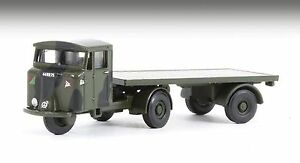 Oxford Military 1/148 Scammell Mechanical Horse RASC Flatbed Trailer NMH017