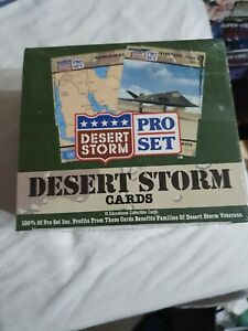 Desert Storm Educational Collectible Cards