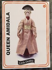 STAR WARS 2017 Little Debbie Rancho Obi Wan Queen Amidala Doll Card 6