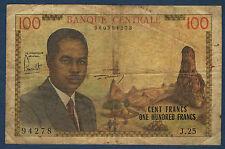 Cameroon - 100 francs pick # 10. 1962. in j.25 94278 tb