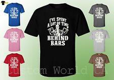 Men T-Shirt - I've Spent A Lot Of Time Behind Bars - New Design Men Tee