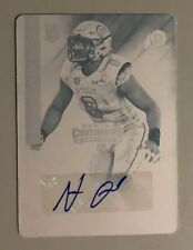 NATE ORCHARD 2015 CONTENDERS #227 RC CYAN PRINTING PLATE AUTO 1/1