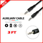 3.5mm Stereo Audio M to M AUX Cable Cord for LG Harmony 4 / Wing / K51 / K92/Q70