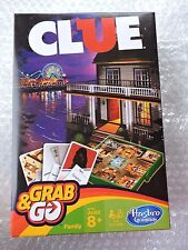 CLUE  Grab & Go game, Ages 8+, For 3 to 6 players NEW