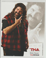 Mick Foley Mankind Officially Licensed TNA Wrestling Promo Photo