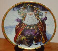 Lenox Bearing Wondrous Gifts collector's plate Magic of Christmas Santa 1994