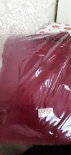 Dorma wine red single duvet 300 thread count **no pillowcase**