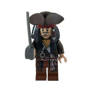Lego Pirates of the Caribbean Captain Jack Sparrow poc011 Braun mit Hut aus 4195