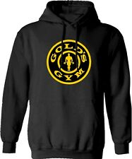 Golds Gym Hoodie Hoody Gym Clothing Fitness Bodybuilding Weight Lifting Training