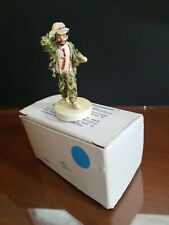 Vintage Sebastian Miniatures Figure Clown #6205
