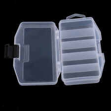 Small Fishing Lure Bait Tackle Storage Box Visible Waterproof Case Container