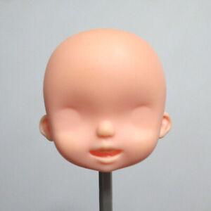PVC Doll Head OOAK  Cute Head Mzzm Defect