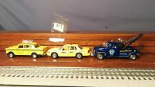 Chevy 3100 Diecast Tow Truck by Kinsmart  1:38, REAL TOY TAXI ,CHECKER TAXI ,LOT