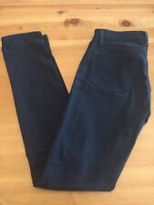 J Brand navy mid rise skinny leg designer jeans women size 23