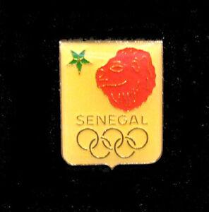1988 SEOUL rare SENEGAL Olympic IOC NOC Delegation Team pin