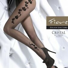 Fashion Tights Sexy Pattern Floral Part cristal Brand fiore