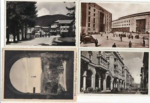 Lot (4) Early ITALY Postcards RPPC