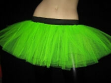 Green tutu skirt cyber club dance party Festival Costumes Neon Free ship usa