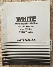 Minneapolis-Moline G1355 & White 2270 Tractor - Parts Catalog - 1975