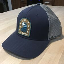 83d4cd6d54356 Patagonia Live Simply Breaker Badge Trucker Hat - New Without Tags - Navy  Blue