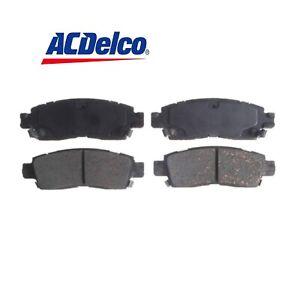 ACDelco Rear Disc Brake Pad Set FIT Buick Enclave/ Chevrolet Trailblazer...