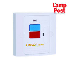 Safety RCD Fused Spur Connection Unit 13A Trip Switch - Niglon FS13RCD