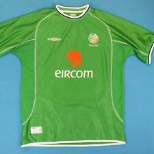 Men's Umbro IRELAND Soccer Jersey Size XL Eircom Authentic World Cup Futbol