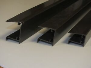 Aluminium Sheet End Closure for Polycarbonate Sheets - 2.1m - Limited Stock