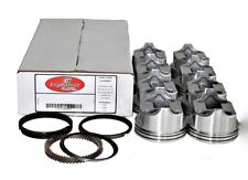 Piston & Ring Kit Ford 351W Dish Pistons V8 1969-1976 Enginetech