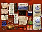 Outdoor Tactical Survival Kit - First Aid Trauma - Emergency Fire Starter - H20