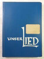 Unser Lied Ein Liederbuch für Schulen von der 5. bis 13. Klasse 1972 243 Seiten