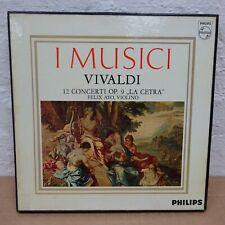 AL3542 4 VIVALDI 12 Concerti Op 9 La Cetra AYO I MUSICI PHILIPS MONO 3LP BOX NM