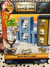 Angry Birds Star Wars Jenga Hoth Battle Game - NEW!