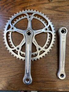 CAMPAGNOLO SUPER RECORD STRADA 1049/A VINTAGE CHAINSET 52/42 170mm 1982