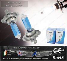 BERG H7 55W Xenon Gas Blue Glass White Halogen Main Dipped Beam Headlight Bulbs