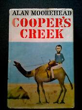 COOPERS CREEK BOOK HB DW 1ST ED MOOREHEAD BURKE WILLS AUSTRALIA