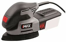 PRO HILKA IMAX 220W ELECTRIC DETAIL PALM MOUSE SHEET SANDER SANDING & 9 SHEETS