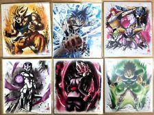 Dragon ball Shikishi ART 7 lot de 6