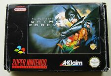 Nintendo SNES Batman Forever boxed with manual