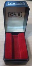 Genuine Vintage Rare Oris Watch Box Travel/Storage Box Watch Case Swiss Blue