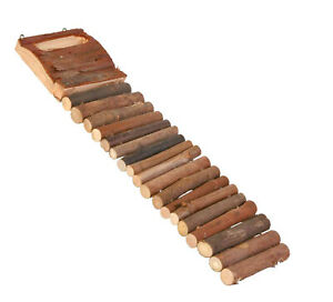 6106 Trixie 27cm Wooden Hamster Cage Ladder / Bridge