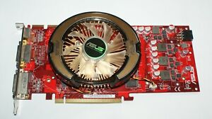 Asus EAH4850 ATI Radeon HD4850 1GB DDR3 2xDVI-I/HDTV-OUT PCIE Graphics Card