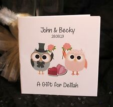Personalised Childrens Kids Wedding Activity Pack Book Favour 6x6inch AB51