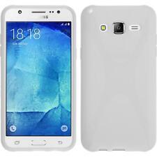 Funda de silicona Samsung Galaxy J5 (2015 - J500) X-Style blanco