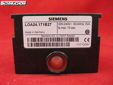 ÖLfeuerungsautomat Steuergerät LOA24.171B27 Siemens LOA Feuerungsautomat